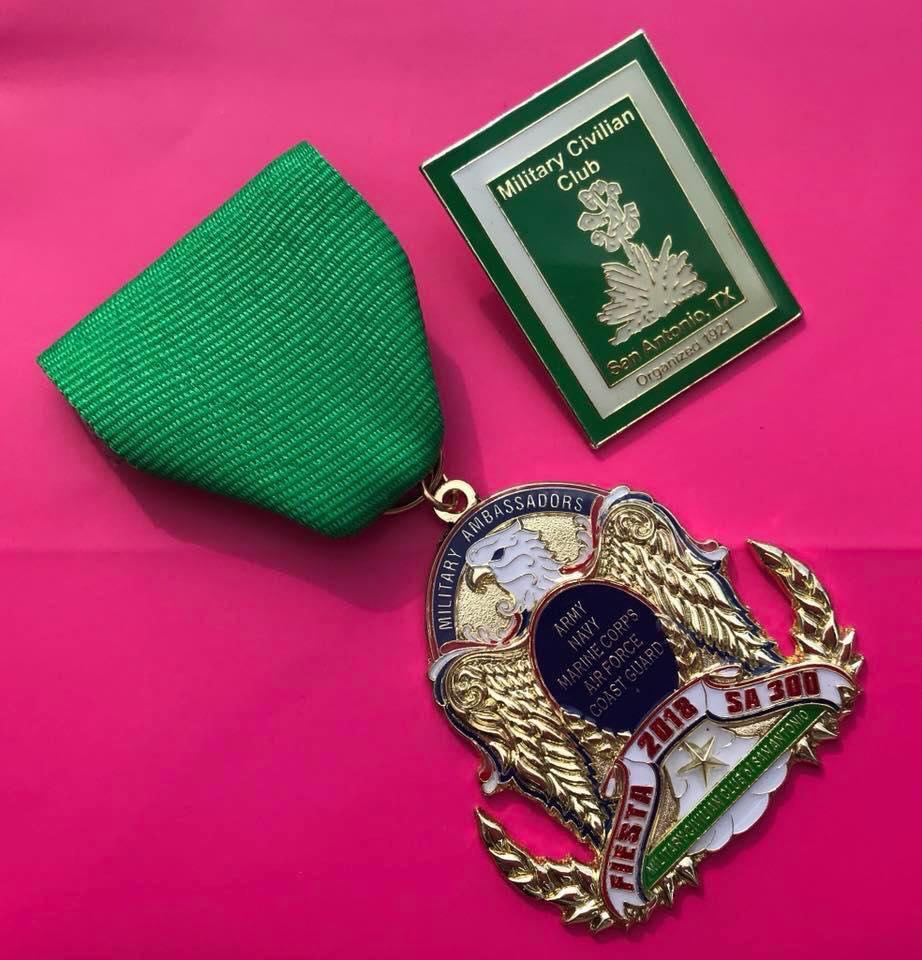 Mil-Civ Medal & Pin